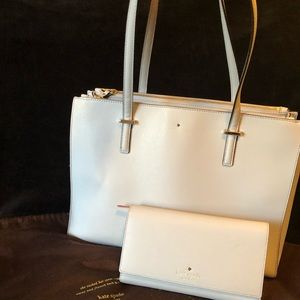 Kate Spade Tote and Travel Wallet